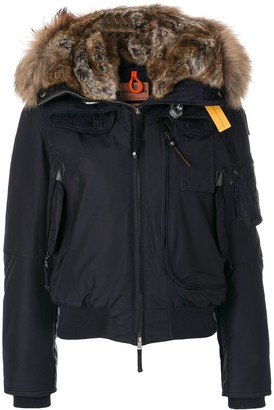 Parajumpers cropped hooded parka