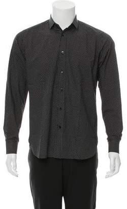 Saint Laurent Polka Dot Button-Up Shirt