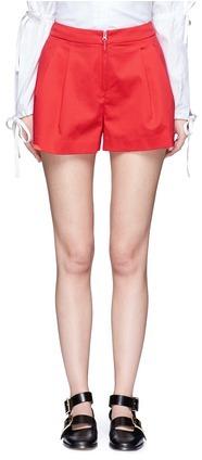 3.1 Phillip Lim3.1 Phillip Lim Cotton blend pleated shorts