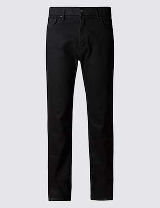 """Marks and Spencer Big & Tall Regular Fit Stretch Jeans with Stormwearâ""""¢"""