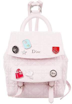 Christian Dior 2017 Small Lucky Badge Stardust Backpack