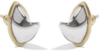 Givenchy Gold And Silver-tone Earrings