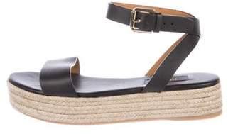 Polo Ralph Lauren Leather Flatform Espadrilles