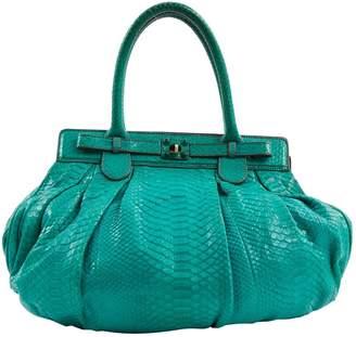 Zagliani Python handbag