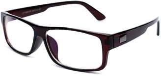 3c502af6bf50 clear Newbee Fashion Lens IG Unisex Lens Plastic Fashion Glasses in