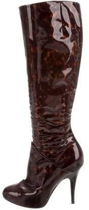 Giuseppe Zanotti Tortoiseshell Knee-High Boots
