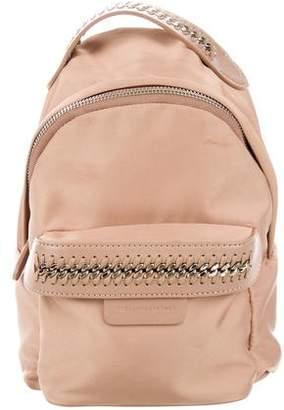 Stella McCartney Nylon Mini Falabella Go Backpack