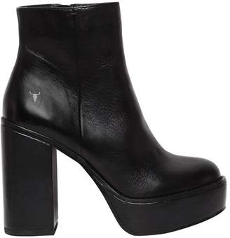 Windsor Smith 110mm Peyton Platform Leather Boots
