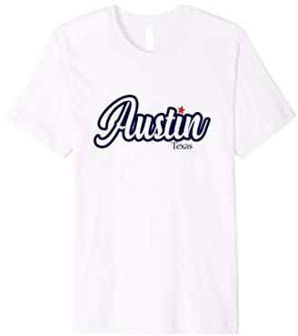 Mens Show you love of Austin Texas with this awesome t-shirt