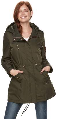 Steve Madden Nyc NYC Juniors' Utility Midweight Jacket