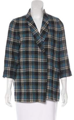 The Great Wool Plaid Jacket