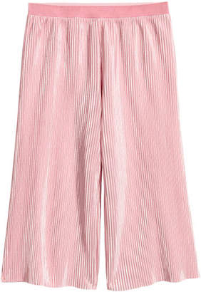 H&M Pleated Pants - Pink