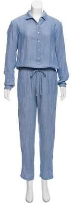 Xirena Long Sleeve Knit Jumpsuit