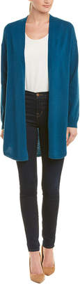 In Cashmere Dropped-Shoulder Cardigan