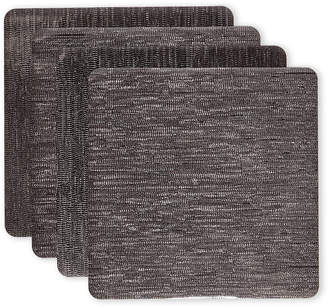 N. Dainty Home Set of 4 Galaxy Metallic Effect Placemats