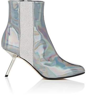 Ballin ALCHIMIA DI Women's Hedra Holographic Leather Ankle Boots