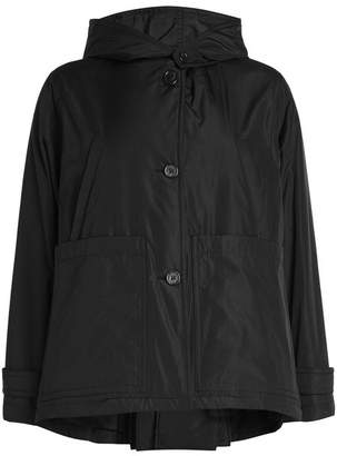 Jil Sander Navy Jacket with Hood