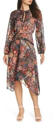 Foxiedox Retro Flowers Midi Dress