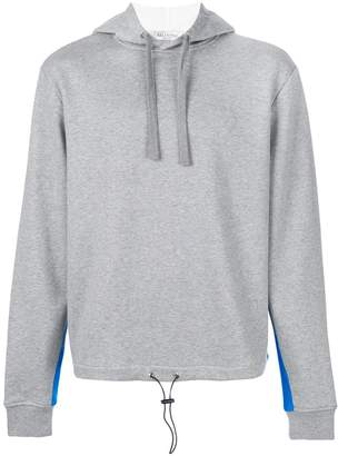 Valentino contrast panel hoodie