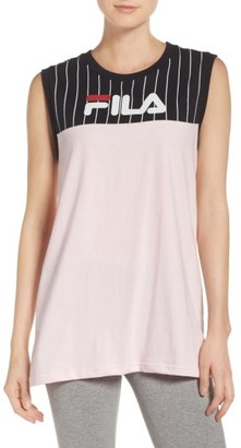 Women's Fila Lucia Muscle Tee $40 thestylecure.com