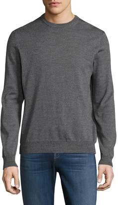Toscano Men's Wool Crew Sweater