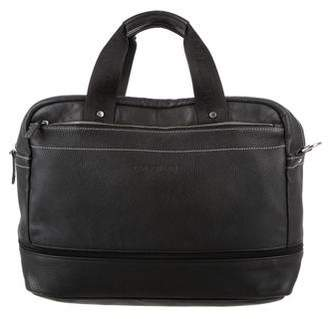 Longchamp Grained Leather Briefcase
