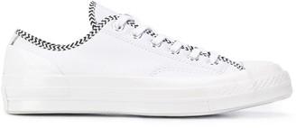 Converse low-top chevron pattern sneakers