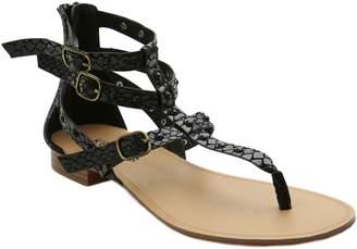 Kensie Studded Flat Thong Sandals - Billie