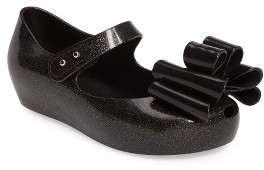 Toddler Girl's Mini Melissa Ultragirl Sweet Iii Mary Jane Flat $59.95 thestylecure.com