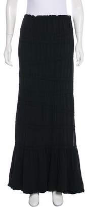 Saint Laurent Silk Maxi Skirt w/ Tags