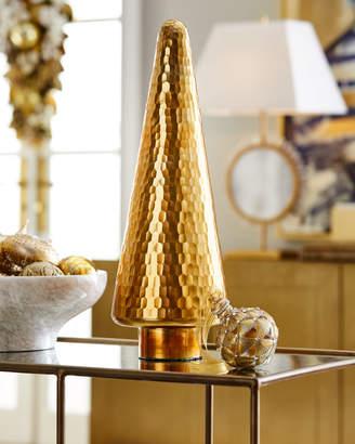 22 Gold Mirror Glass Tree