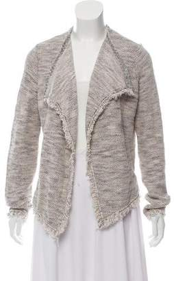 Joie Collarless Knit Jacket