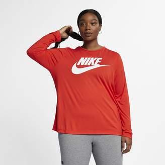 Nike Sportswear Essential Women's Long-Sleeve Top (Plus Size)