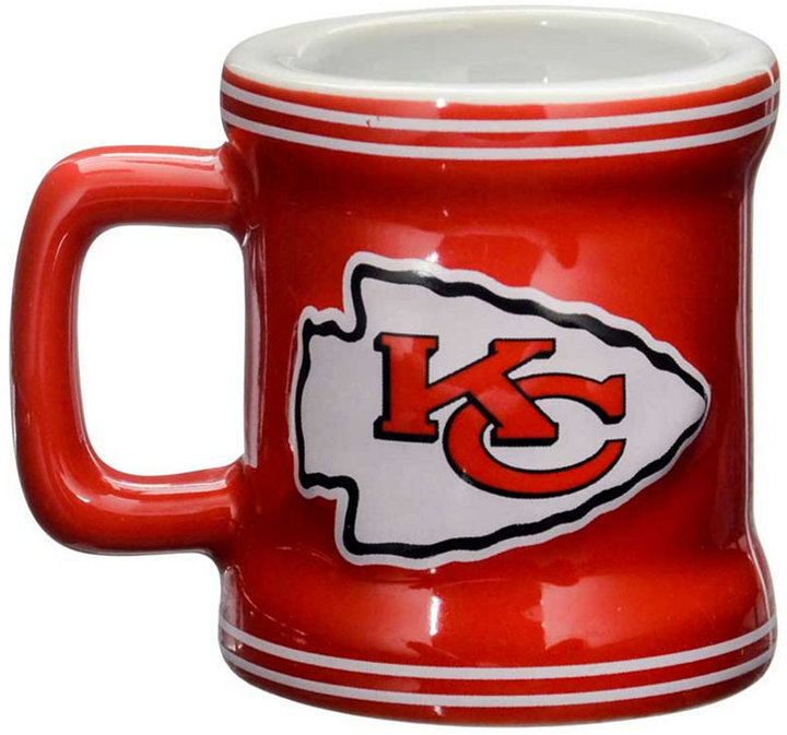 Boelter Brands Kansas City Chiefs 2 oz. Mini Mug Shot Glass