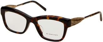 Burberry BE2211 Tortoiseshell-Look Angular Cat Eye Optical Frames