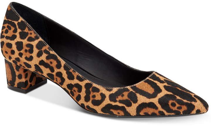 Calvin Klein Women's Genoveva Kitten-Heel Pumps Women's Shoes
