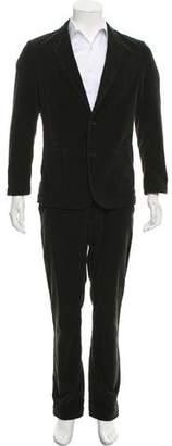 Adam Kimmel Supreme x Corduroy Notch-Lapel Suit