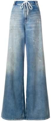 MM6 MAISON MARGIELA wide-leg stonewash jeans