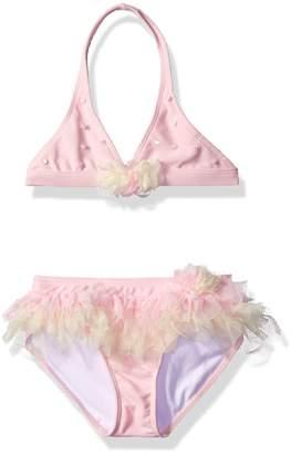 Kate Mack Little Girls' Garden Sprite Skirted Bikini Swimsuit