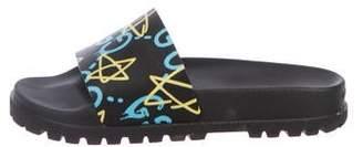 Gucci Ghost Slide Sandals
