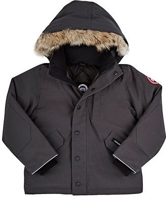 Canada Goose Logan Tech-Fabric Youth Parka $545 thestylecure.com