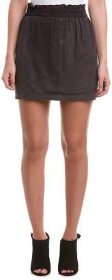 Scotch & Soda Super Soft Suede Mini Skirt