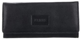 Gianfranco Ferre Leather Trifold Keyholder