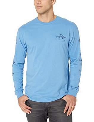 Quiksilver Waterman Men's Hagi Ruin Ls Long Sleeve Shirt