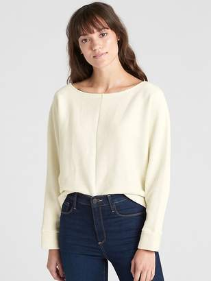 Gap Boxy Ottoman Ribbed Long Sleeve Top