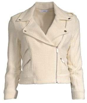 LIKELY Alessia Cropped Moto Jacket