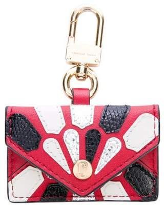 Marc Jacobs Leather Envelope Bag Charm