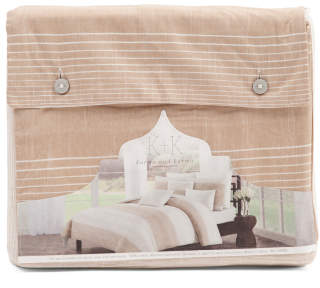 3pc Darlington Stripe Duvet Set