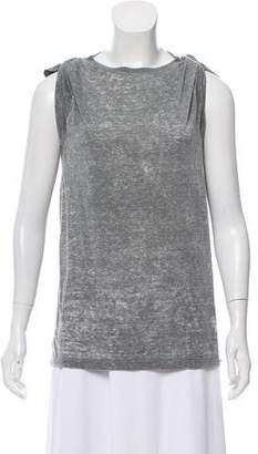 Isabel Marant Sleeveless Crew Neck T-Shirt