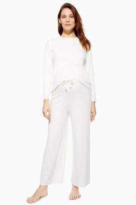 Topshop Womens **Maternity Brushed Ribbed Trousers
